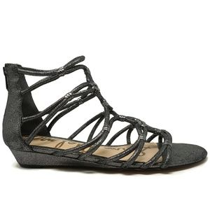 Sam Edelman Womens Daryn Gladiator Sandals Sz 10.5